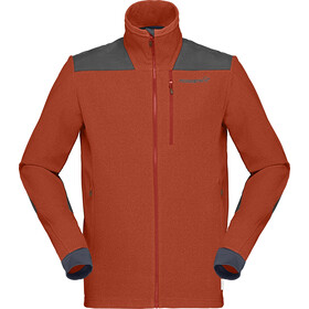 Norrøna Svalbard Warm1 Jacket Men rooibos tea/sla
